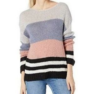 🆕Lucky Brand Color Block Striped Open Knit